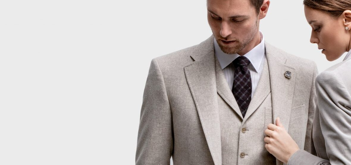 A Guide to Try a Suit or a Tuxedo by BespokeDailyShop