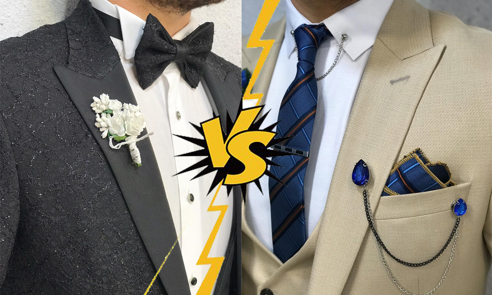 Difference between Tuxedo and Suits – All in the Details by BespokeDailyShop.com