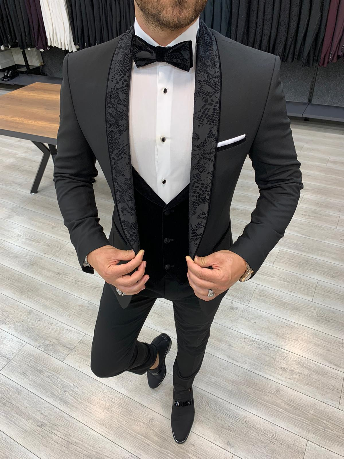 6 Times Groomsmen Rocked a Black Tux by BespokeDaily Blog