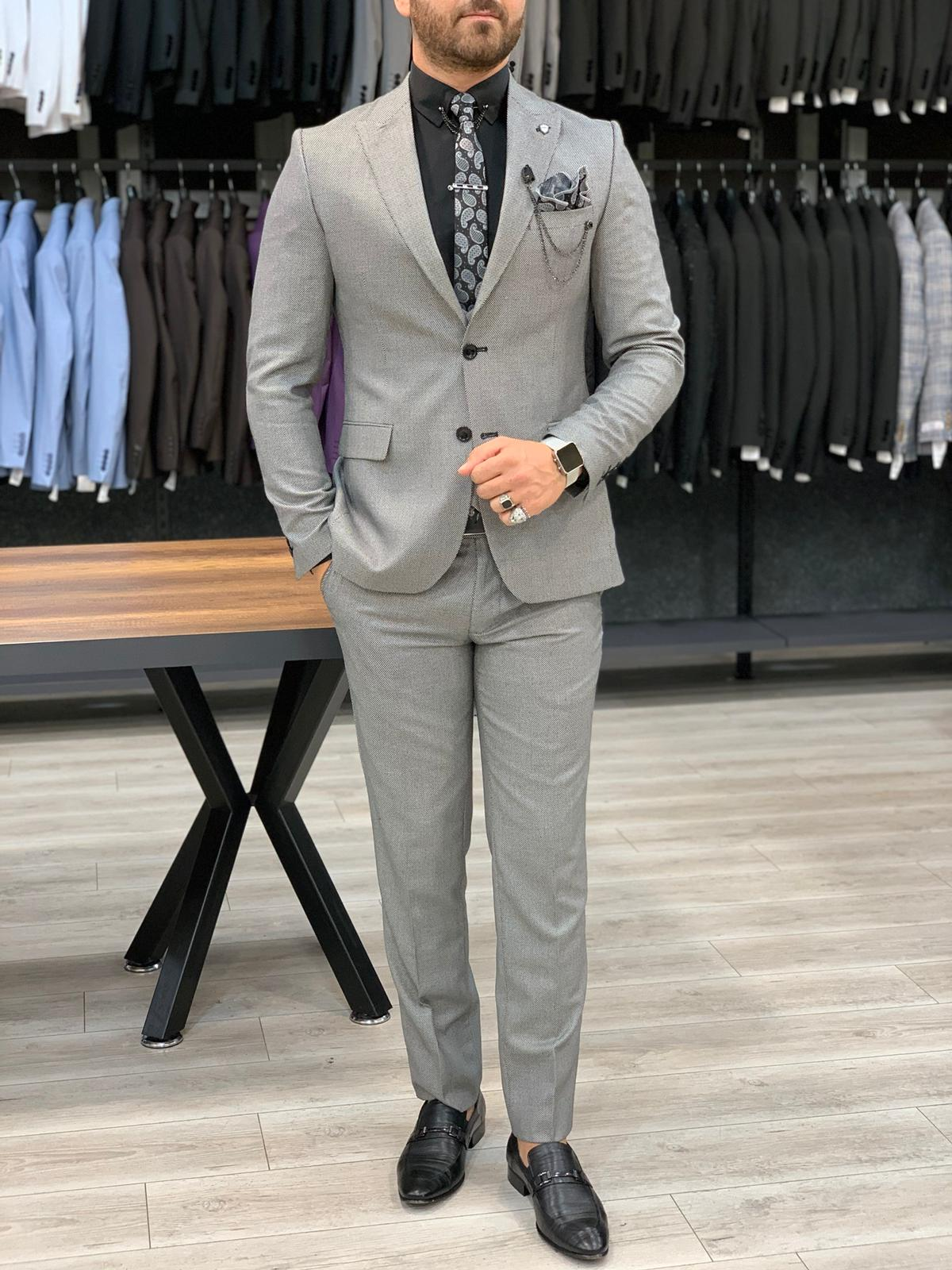 The Best Ways to Style a Gray a Suit by BespokeDaily Blog