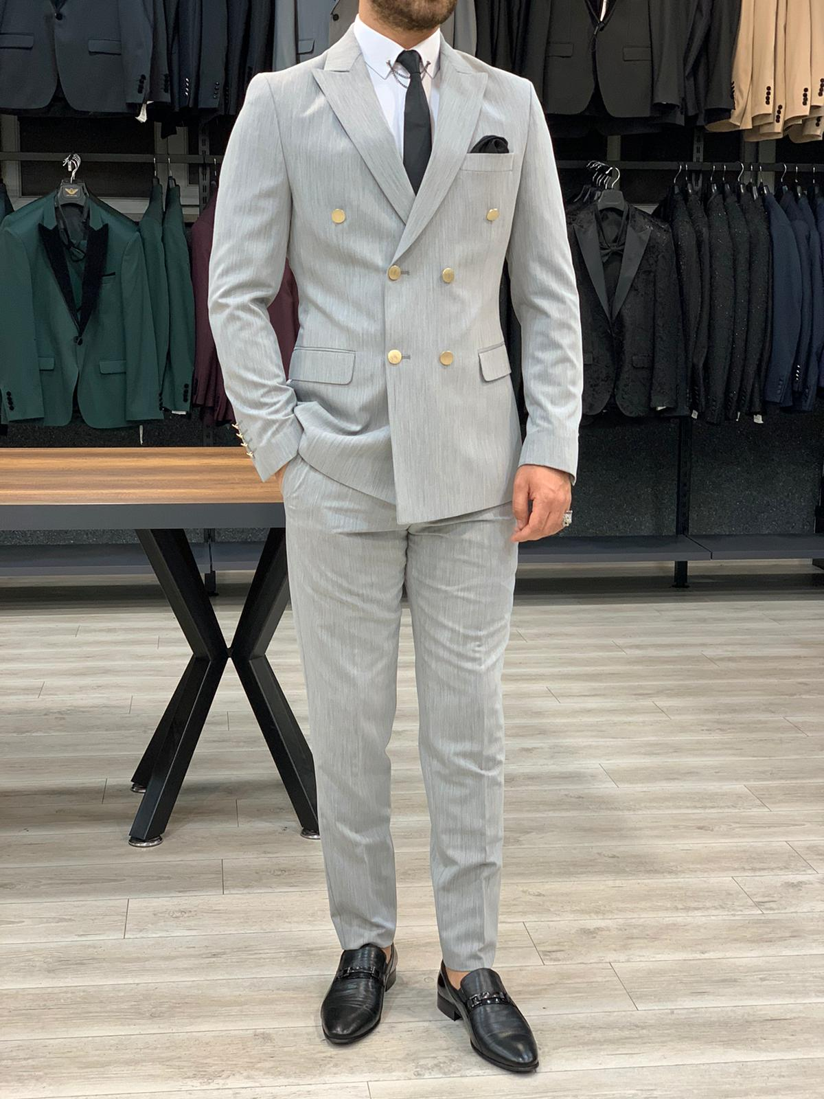11 Rules to Follow When Wearing a Grey Suit by BespokeDaily Blog