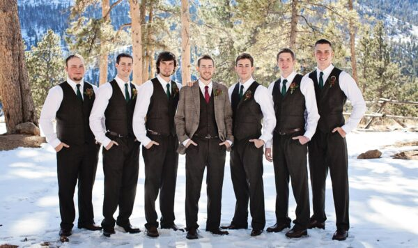 Winter Weddings: 12 Best Winter Wedding Styles for Groom & Groomsmen by BespokeDaily Blog